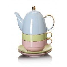 RuMah casa, cocina & más - Juego de té para 2 - La Hora del Té