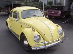 I had a yellow Volkswagen bug in the 80's as a second car to knock around in. When the front end felt like it was going to fall off, I knew it was time to get rid of it.