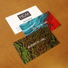 Hinckley Gauvain Matrix - Business Card Design