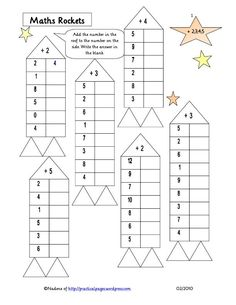 Mental Maths Worksheets, Math Coloring Worksheets, Reading Comprehension Worksheets, Kindergarten Math Worksheets, Teaching Math, Math Activities, Math Sheets, Third Grade Math, Guided Math