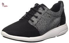 Ophira A, Sneakers Basses Femme, Noir (Black), 39 EUGeox