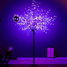 Cherry Blossom Tree, Blossom Trees, Led Tree, Tree Lamp, Cool Gadgets, Christmas Decorations, Lights, Cool Stuff, Blooming Trees