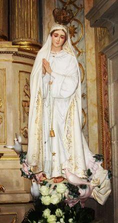 Our Lady of Fatima in Braga, Portugal. by nannie
