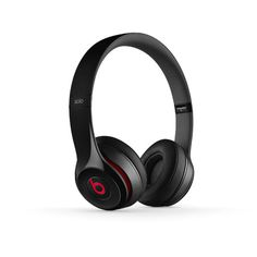 Beats Solo2 On-Ear Lightweight Headphones   Beats by Dre ($200) ❤ liked on Polyvore featuring accessories, headphones, electronics, beats, technology and filler