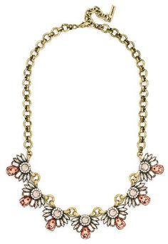 BaubleBar 'Hoot' Collar Necklace
