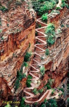 Walters Wiggles - Zion National Park, Utah TA: I've been up this trail a few times! :)