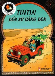 Couverture de Tintin (en langues étrangères) -15Vietnamien- Tintin Đến Xứ Vàng Đen