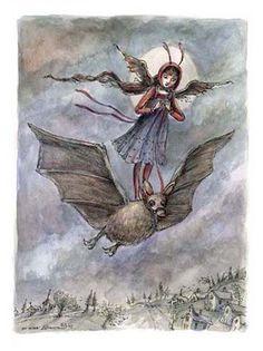 """""""Batrider"""" by Paulina Cassidy"""