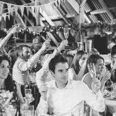 Gorgeous, relaxed summer wedding at Hookhouse Farm, Surrey
