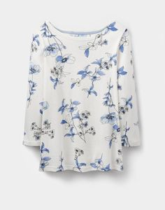 Joules Habour Print Womens Jersey Top