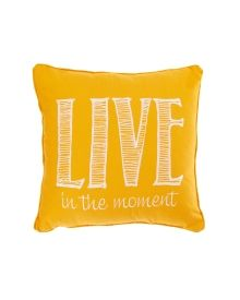 "Talia Live in the Moment 18"" Pillow - Home 