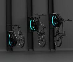 Modern Bike Rack