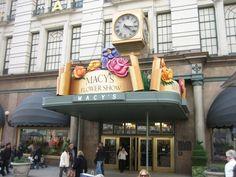 Macy's Flower Show. Flower Show, San Francisco Ferry, Broadway Shows, Nyc, March, Sunday, Spring, Domingo, New York