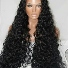 Indian Remy Human Hair Full Lace Wig 28 inches Beautiful Human Hair Wig Part Anywhere medium cap 28 inches long. Accessories