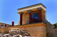 Knossos Greece - Google Search  Island of Crete