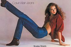 Brooke shields 1980s fashion Photo - Photographed by Richard Avedon.