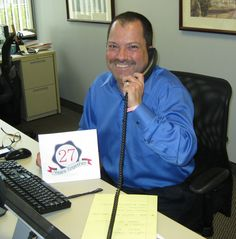 Now this is proof of employee retention! Frank Cardillo, Director of IT Services just celebrated 27 (count 'em years with LLoyd. Employee Retention, Work Anniversary, Count, Celebrities, Fashion, Celebs, Moda, Fashion Styles, Celebrity