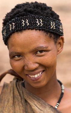 Beautiful Woman, The San People. Namibia