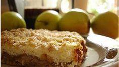 Õuna-kohupiimakook neljaviljahelvestega