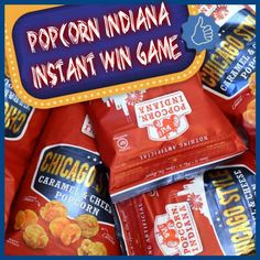 Popcorn Indiana Instant WIN Game WIN a Samsung Galaxy Tablet ,a case of Popcorn Indiana Popcorn & more Enter DAILY-Ends 4/30