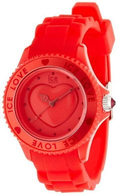MONTRE ICE WATCH - FEMME - QUARTZ - ICE LOVE RED - Small - LO.RD.S.S.10- NEUF