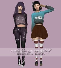 Designer Sweat Shirt for The Sims 4