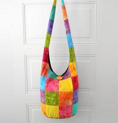 Hobo Bag Sling Bag Crossbody Bag Hippie Purse Boho by 2LeftHandz