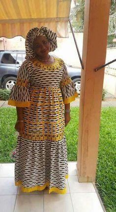 Best African Dresses, African Fashion Ankara, African Traditional Dresses, African Print Dresses, African Print Fashion, Africa Fashion, African Attire, African Clothes, Nigerian Dress