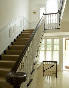 wainscotting stairs