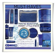 """""""Must Have Beauty - Blue Mania: 08/09/16"""" by pinky-chocolatte ❤ liked on Polyvore featuring beauty, Anastasia Beverly Hills, Nannette de Gaspé, Kiehl's, Elemis, Christian Dior, Guerlain, Jao, LeSportsac and Acqua di Parma"""
