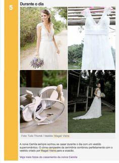 """Matéria """"Vestido de noiva: veja cinco looks românticos"""" (18/03/2013), site GNT"""