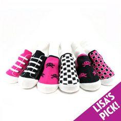 Baby Girl Gifts - Me in Mind Girl Sneaker Sock Set