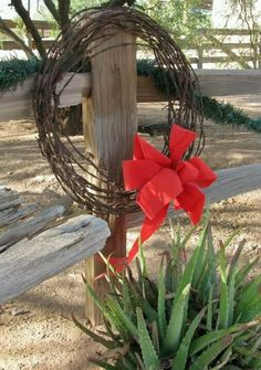 Barb wire wreath FOR ALL THE GATES ON RHONDA'S FARM