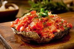 Portobello Mushroom Pizza recipe! Try this diet friendly, low calorie recipe by Amino Diet