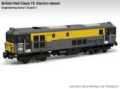 "Lego Class 73 ""Dutch"" livery 