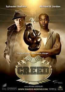 Creed (USA-November 25, 2015) a drama sport directed by Ryan Coogler. Written by Ryan Coogler, Aaron Covington. Stars: Michael B. Jordan, Sylvester Stallone, Tessa Thompson, Phylicia Rashad, Andre Ward, Tony Bellew, Ritchie Coster. The former World Heavyweight Champion Rocky Balboa serves as trainer and mentor to Adonis Johnson, the son of his late friend and former rival Apollo Creed. Sylvester Stallone WON an Golden Globe award for Best Supporting Actor in a role in this film.