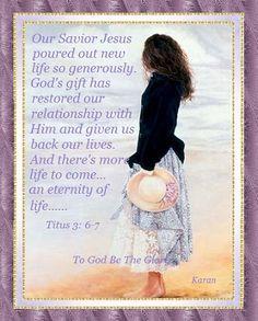 Titus 3:6-7
