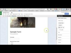 Free Technology for Teachers: Video - How to Customize the Theme of Your Google Forms