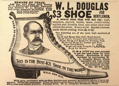 Old shoe ad