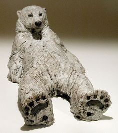 Nick Mackman Clay sculpture