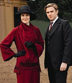 Downton Abbey, Mary and Matthew