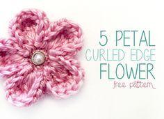 5petalflower-cover Tutorial con fotos ❥Teresa Restegui http://www.pinterest.com/teretegui/❥