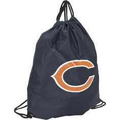This drawstring bag would replace the backpack that Franco carries. It would have the Bears logo on it because he likes to gamble and gambles on the Bears.