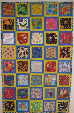 Hearts for Linus: Easy I Spy quilts