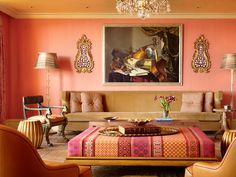 HGTV's October Color of the Month Is More Than Just Beachy (http://blog.hgtv.com/design/2014/10/06/how-to-decorate-with-coral-for-fall/?soc=pinterest)