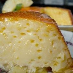 Flan pineapple 1 large can of pineapple in juice condensed milk 4 eggs pint milk 4 tablespoons sugar Sweet Desserts, Sweet Recipes, Delicious Desserts, Yummy Food, Mexican Food Recipes, Dessert Recipes, Flan Cake, Latin Food, Cupcake Cakes