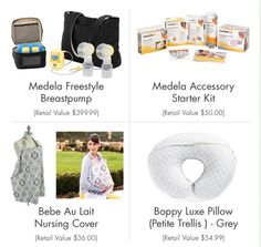 Enter 8/3-8/10 for your chance to win our August is Breastfeeding Month Giveaway! // blog.rightstart.com.