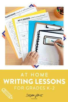 These printable and digital writing activities are fun for kindergarten and first grade students to complete at home through distance learning! There are 4 weeks worth of easy-to-follow lesson plans where students can make their own stories! Head on over to see more!