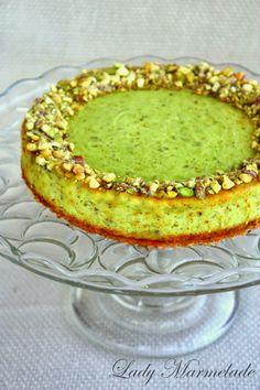 Lady Marmelade: Pistachio cheesecake!