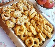Greek Sweets, Greek Desserts, Sugar Free Desserts, Greek Recipes, Vegan Desserts, Greek Cookies, Biscuit Bar, Baking Recipes, Cake Recipes